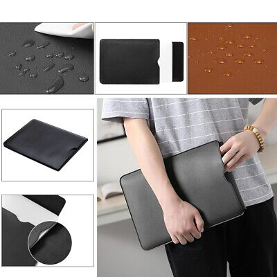 £5.46 • Buy PU Leather Pouch Sleeve Bag Case For Apple IPad /MacBook Air Pro 11'' 13'' 15''