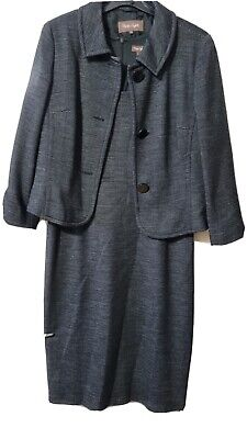 £14.75 • Buy Phase Eight Charcoal Dress And Jacket Size 14
