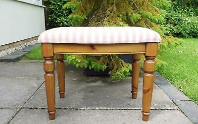 £49 • Buy Ducal Victoria Vanity Stool For A Dressing Table. Solid Pine Very Good Condition