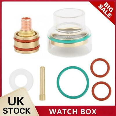 £23.89 • Buy TIG Welding Torch Kit Glass Cup Collet Gas Lens 1.6mm/2.4mm Welding Nozzles