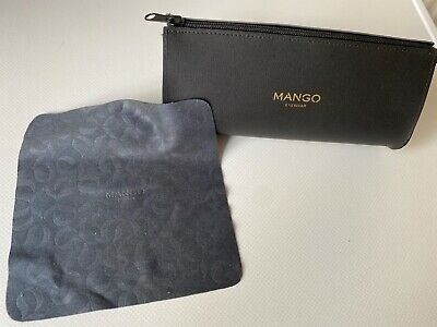 £6.75 • Buy Mango Glasses/sunglasses Case Black Zipped Good Used Condition With Cloth