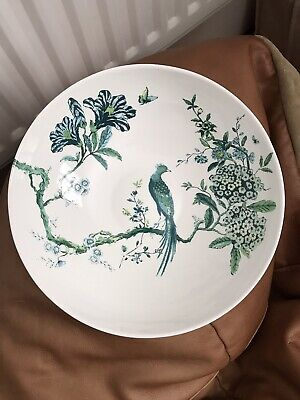 £200 • Buy Large Jasper Conran Wedgwood White Chinoiserie Serving Bowl. Approx 30cm / 12in