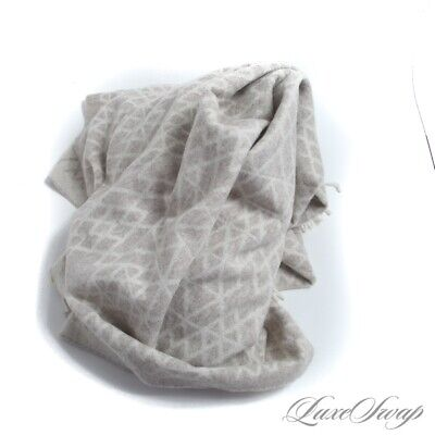 £29.82 • Buy NWT Frette Made In Italy Cashmere Blend Mocha Vanilla Shatter Throw Blanket #5