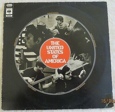 £8.20 • Buy The United States Of America - Holland CBS Reissue LP