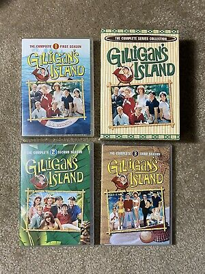 £16.72 • Buy Gilligan's Island: The Complete Series Boxed Set 17 DVDs  1-2-3 Seasons Clean!