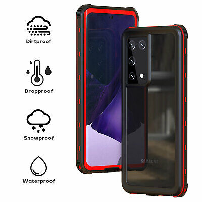 AU16.99 • Buy 360 Waterproof Case For Samsung S21 S20 Ultra Note 20 S10 S9 S8 Screen Protector