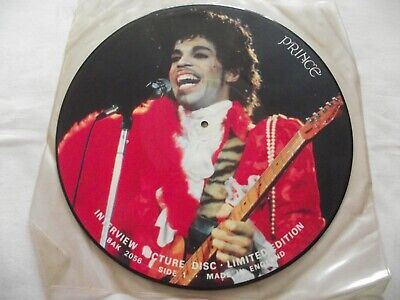 £6.99 • Buy Prince ** Interview 12  PICTURE DISC. BAK 2056