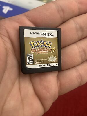 $130 • Buy Pokemon HeartGold Nintendo DS Real Authentic Cartridge Free Shipping