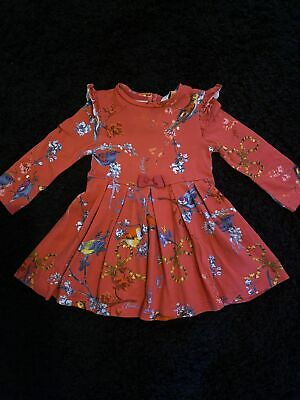£5.50 • Buy Girls Ted Baker Floral Dress 12-18 Months Excellent Condition
