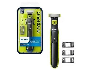 £22 • Buy Philips QP2520/25 OneBlade Wet Dry Facial Hair Trimmer Shaver