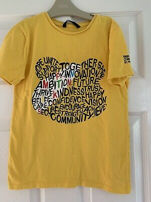 £2.60 • Buy Children In Need T Shirt. Yellow With Pudsey Logo.Age 8-9 Yrs. 100% Cotton