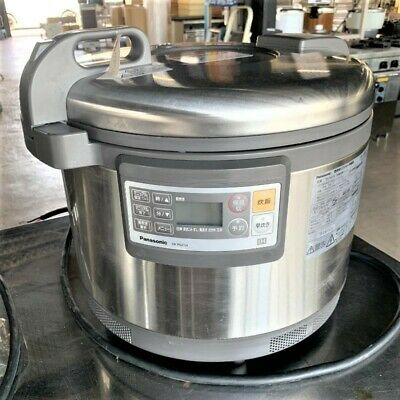 £854.73 • Buy Panasonic SR-PGC54 Rice Cooker Business Use IH Rice Cooker Made In 2018 Used