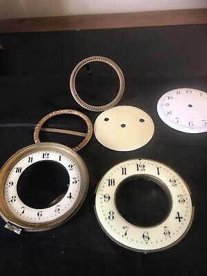 £20 • Buy #65 - Old French Clock Dials And Other Parts