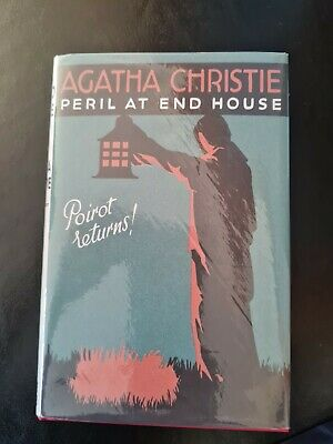 £14.99 • Buy Peril At End House Agatha Christie Hardback In D/J Mint Con