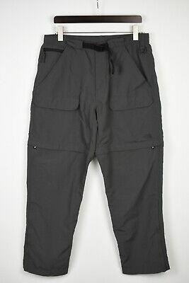 £16.99 • Buy THE NORTH FACE Men's LARGE Belted Zip Off Shorts Trekking Trousers 41509_GS