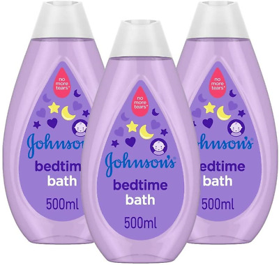 £11.92 • Buy JOHNSON'S Bedtime Bath Multipack, Gentle And Mild For Delicate Skin And Everyday