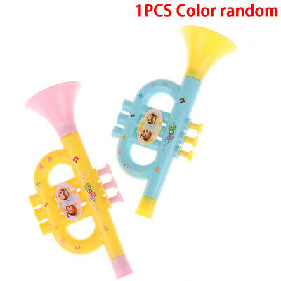 £2.79 • Buy Baby Music Toys Early Education Toy Colorful Musical Instruments Kids Trumpet.