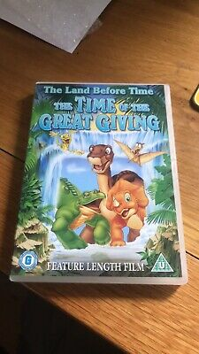 £0.99 • Buy The Land Before Time Dvd