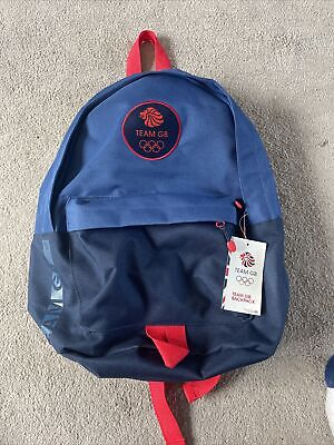 £29.99 • Buy Team GB Backpack New With Tags Olympic GB Backpack