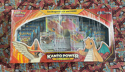 $190 • Buy Pokemon Kanto Power Collection Box (Dragonite EX) XY Evolutions, Sealed, In Hand