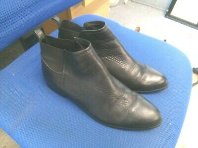 £5.50 • Buy Clarks Somerset Black Leather Chelsea Boots Size 7/41