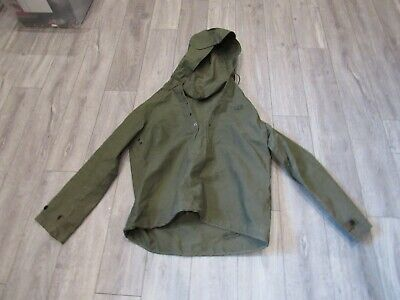 £7.64 • Buy WWII US Navy USN Size Small Waterproof Deck Jacket NOS