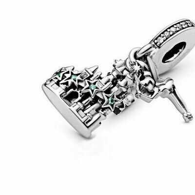 £14.89 • Buy NEW Pandora DISNEY Parks Tinker Bell & Castle Of Magical Dreams Charm 798856C01