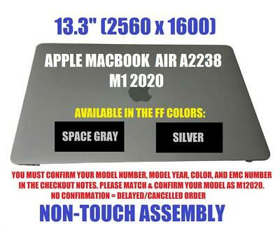 $452 • Buy For MacBook Pro 13  M1 A2338 2020 Year EMC3578 LCD Screen Display Replacement