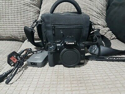£69 • Buy Canon EOS 400D DSLR Camera - Body Only +  Battery , Canon Charger, 1 Gb & Bag