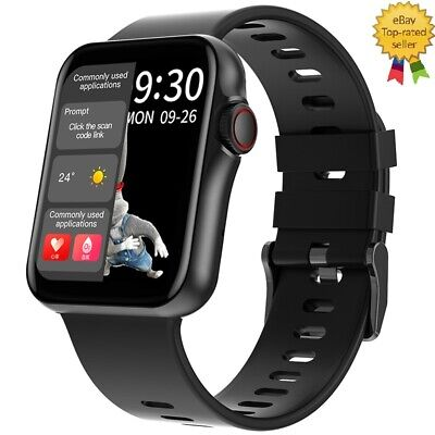AU59.99 • Buy Smart Watch Heart Rate Monitor Bluetooth Waterproof-DT06- On The Video