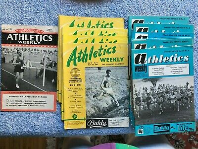 £5.28 • Buy ATHLETICS WEEKLY Mixed Collection 17 Editions Including A Rare 1951 Edition