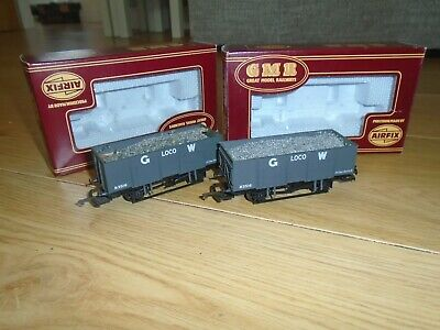 £8 • Buy Pair Of Airfix GWR Wagons For Hornby OO Sets