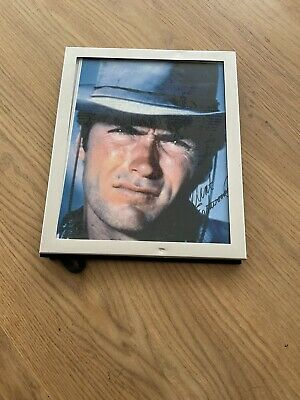 £10 • Buy Clint Eastwood Early Original Signed Photograph Spaghetti Western In Frame