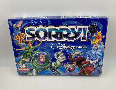 £19.99 • Buy SORRY! The Disney Edition Board Game 2002 Waddingtons - 100% Complete