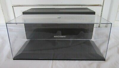 £10.50 • Buy Minichamps 1:18 / 1:24 Scale Display Case Show Case Clear Top For Model Cars