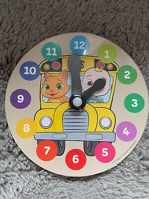 £3 • Buy Cocomelon Wooden Puzzle Clock - Learn To Tell The Time - NEW And SEALED