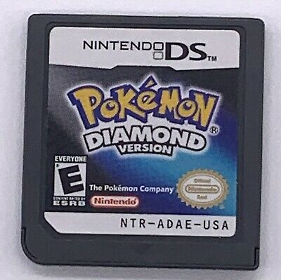 $43.49 • Buy Pokemon: Diamond Authentic (Nintendo DS) Lite DSi XL 3DS 2DS Game Only Tested