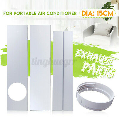 AU18.90 • Buy Exhaust Hose/Window Adaptor/ Window Slide Kit Plate For Portable Air Conditioner