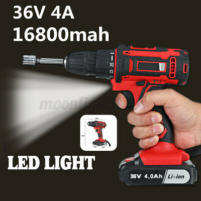 £42.59 • Buy 36V 16800mAh Cordless Impact Wrench Brushless Driver Torque Replace Drills Boay