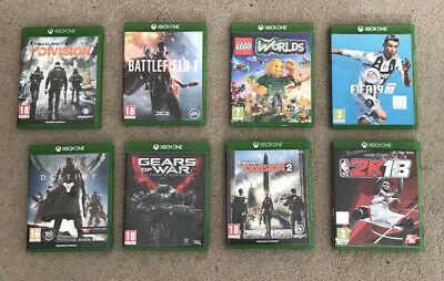 £26.50 • Buy Xbox One Games Bundle X8 Games Lego Worlds, The Division, Fifa, Gears Of War....