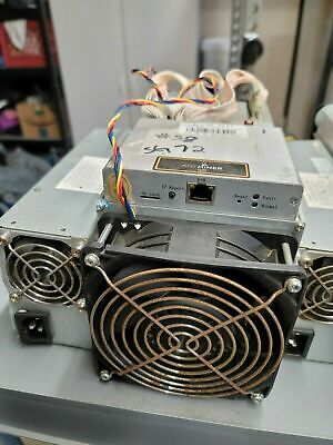 AU950 • Buy Used Bitmain Antminer S9 -13.5 TH/s BITCOIN ASIC MINER +Power Supply Unit..