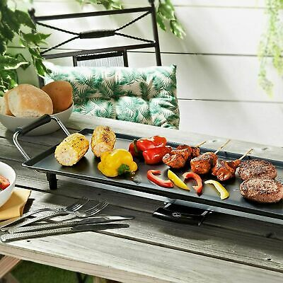 £45.99 • Buy Teppanyaki Grill XXL Electric BBQ Table Top With ADJUSTABLE Temperature Control