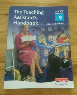 £9 • Buy The Teaching Assistant's Handbook NVQ/SVQ & CACHE Level 2