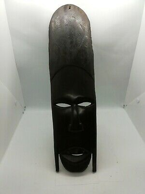 £15 • Buy Vintage African Wooden Face Mask/African Wall Hanging