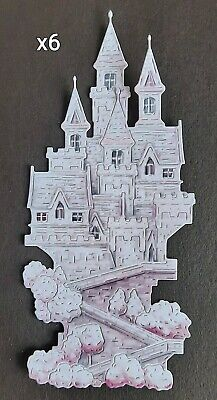 £2.65 • Buy 6 X Carnation Crafts CASTLE (pink) Charisma Die Cuts From The New Fairytale Col.