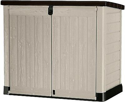 £188.99 • Buy Keter Store It Out MAX Garden Lockable Storage Box XL Shed Outside Bike Bin Tool