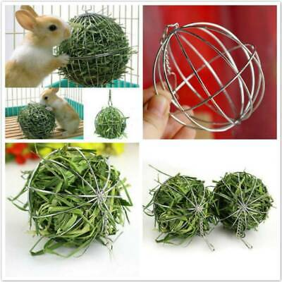 £3.07 • Buy SALE Round Pet Grass Ball Collecting Tool Hay Rack Teething Supplies Feeding Toy