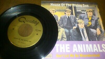 £7.31 • Buy Animals House Of The Rising Sun//Don't Let ...