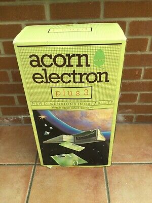 £102 • Buy Acorn Electron Computer In Original Box And Electron Plus 3 Boxed . + Plus 1