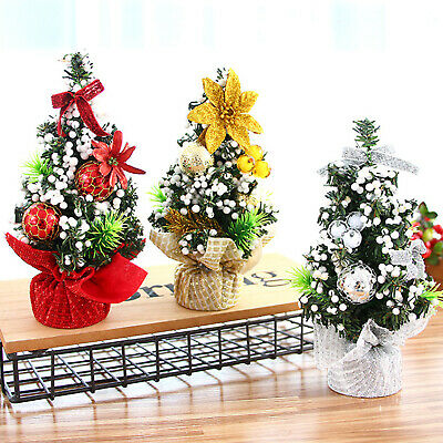 £6.79 • Buy Christmas Tree Artificial Flowers Ornaments Gift Ribbon Party Garland Desk Decor
